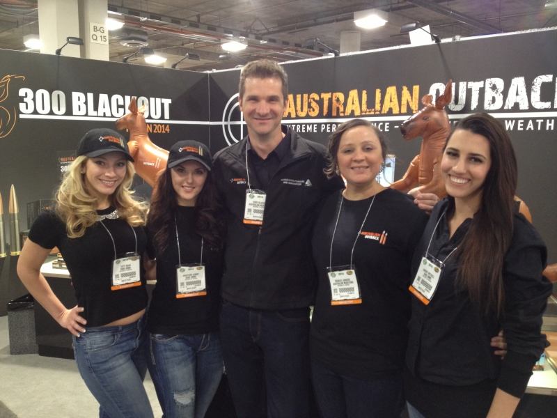Australian Munitions debut at Las Vegas SHOT Show